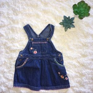 5/$25 Oshkosh B'Gosh Baby Jean Dress